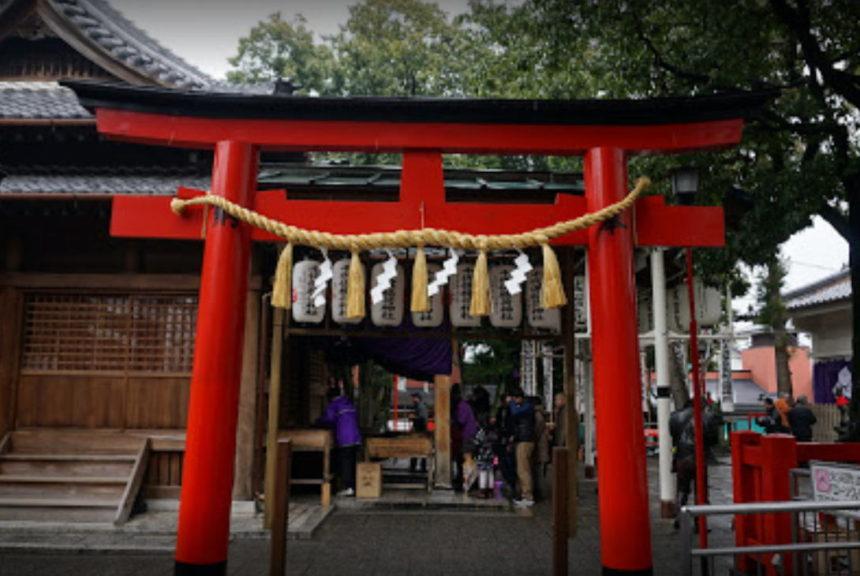 稲荷 日本 神社 大 三