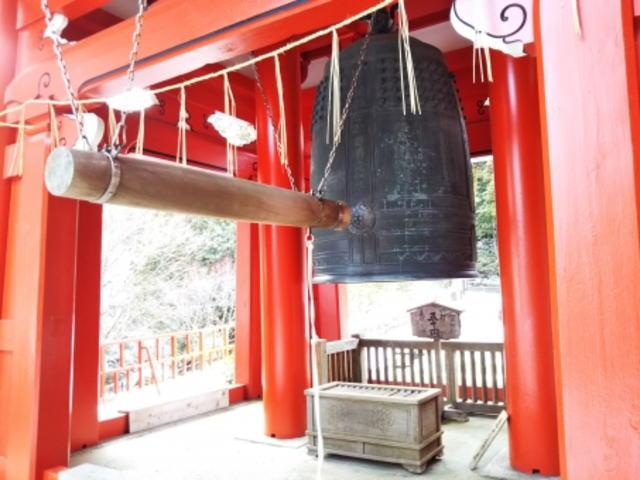 比叡山延暦寺の開運の鐘