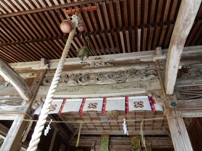 国造神社の彫刻