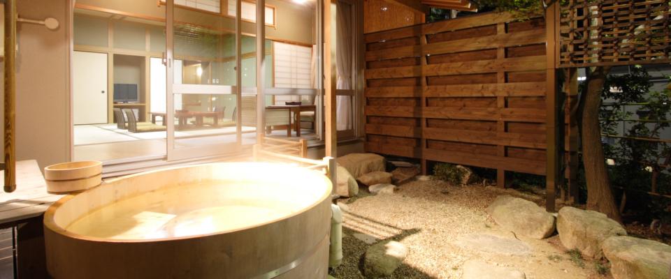 芙蓉山荘銀泉露天風呂付特別室