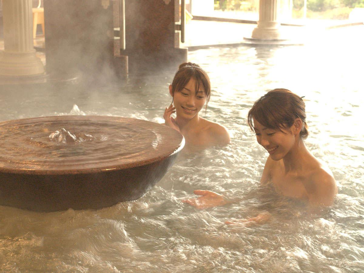 兵衛向陽閣の温泉